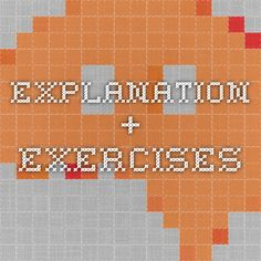 explanation + exercises Indirect Speech, Reported Speech, Exercises, Exercise Routines, Excercise, Work Outs, Workout