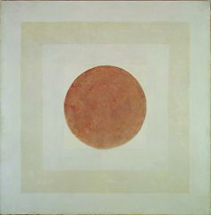 Cow, 1960 Oil on canvas 69 x 69 in.  175.3 x 175.3 cm Agnes Martin