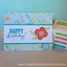 ctmh card ideas shower flowers - Google Search