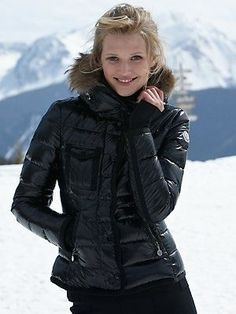 Really love this kind of casual! Moncler down coat!