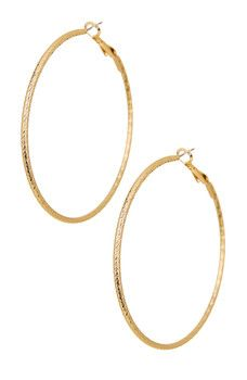 14th & Union - 55mm DC Hoop Earrings