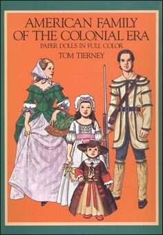 American Family of the Colonial Era Paper Dolls | Main photo (Cover)