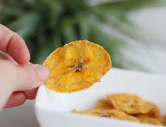 recept bananen chips uit de oven van bakbanaan