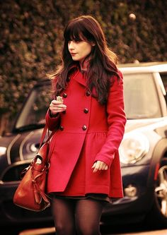 zooey deschanel is my ultimate style icon - Zooey Deschanel - Zoo Zooey Deschanel Style, Zoey Deschanel, Preppy Mode, Preppy Style, My Style, Good Woman, Fall Outfits, Cute Outfits, Geek Chic Outfits