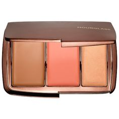 Rank & Style - Hourglass Illume Sheer Color Trio #rankandstyle #Cultfave Beauty Products to Gift the Beauty Junkie. Available on the Hourglass site, these beautiful sheer luxurious sheer cream shades highlight and define. Even makeup artists have been known to covet this combination bronzer, blush and highlighter. It'll give you a super natural finish, and is the perfect option for adding an infusion of warmth into any day.