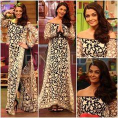 Celebrity Style,manish malhotra,Aishwarya rai bachchan,The Kapil Sharma Show,Ae Dil Hai Mushkil