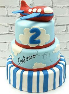 Looking for cake decorating project inspiration? Check out Airplane Birthday Cake by member cdangelo. Airplane Birthday Cakes, Novelty Birthday Cakes, Adult Birthday Cakes, Airplane Party, Airplane Cakes, Birthday Ideas, Planes Party, Cake Birthday, Cupcakes