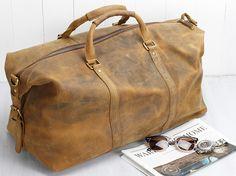 Duffle Bag | travel bag for men \ mens overnight bag \ luxury travel bag