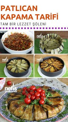Patlıcan Kapama – Nefis Yemek Tarifleri – Sebze yemekleri – The Most Practical and Easy Recipes Yummy Recipes, Dinner Recipes, Cooking Recipes, Healthy Recipes, Iftar, Good Food, Yummy Food, Football Food, Arabic Food