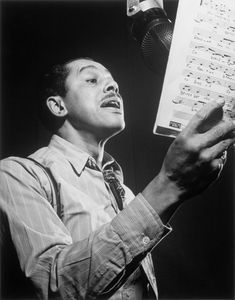 """""""Jazz was not only built in the minds of the great ones, but on the backs of the ordinary ones."""" - Cab Calloway"""