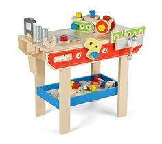 Amazon.com  Tidlo Workbench by Tidlo  Toys  amp  Games Wooden Toys e3f5cdd54c