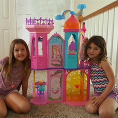 I wish they had this when I was their age! Imaginations fly high with the Barbie® Rainbow Cove™ Princess Castle #BarbieRainbowCastle - http://go.shr.lc/2fzYvoL  #ad @adventuresof8