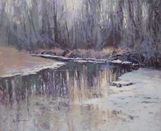 "Rum River by Barbara Jaenicke Pastel ~ 16"" x 20"""