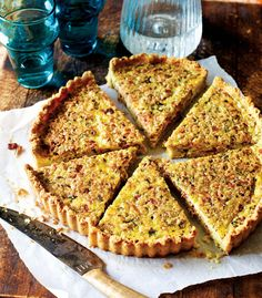 """This Bacon Tart Makes Us Want to Say """"I Do"""" to the Paleo Diet. Paleo Diet Recipes From @elana's pantry  - @REDBOOK Magazine"""