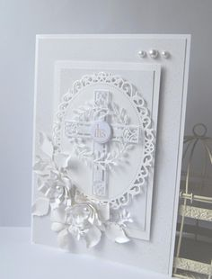 Sheet Gosia World Communion color and white Confirmation Cards, Baptism Cards, Christening Card, First Communion Cards, Christian Cards, Marianne Design, Get Well Cards, Sympathy Cards, Paper Cards