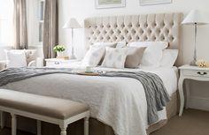 Tan Bedroom Beauty: Conservative But Fun Bedrooms - Decor Around The World Tan Bedroom, Summer Bedroom, Bedroom Retreat, Master Bedroom Design, Home Bedroom, Bedroom Decor, Bedroom Furniture, Furniture Sets, Bedroom Ideas