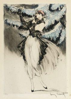 Winter Louis Icart 1923