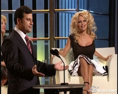 Pam Anderson's Roast skirt
