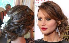 penteados para madrinhas cabelo medio - Pesquisa do Google