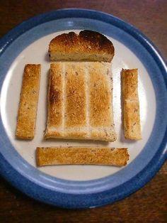 いつものトーストが「サク・ふわ食感」簡単焼き方に一工夫で美味しくなる Diy Food, Cornbread, French Toast, Breakfast, Ethnic Recipes, Millet Bread, Morning Coffee, Corn Bread