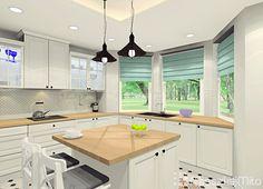 Aranżacja kuchni otwartej na salon Kitchen, Table, Furniture, Home Decor, Drawing Rooms, Cooking, Decoration Home, Room Decor, Home Furniture