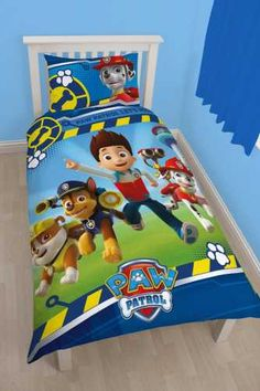 Paw Patrol single Quilt cover Koolkidsbedding  135cm x 200cm Polyester/ Cotton $59.99 Plus Postage Please visit our Website to Purchase.
