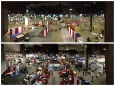 Before & After pictures from JEC Composites #JECAmericas2014 in Atlanta, Georgia.   May 2014. #Freeman #FreemanCo #exhibitorservices #tradeshow #events #FreemanExposition