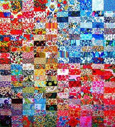 """200 LIBERTY TANA LAWN PATCHWORK 2"""" CHARM SQUARES Liberty Quilt, Liberty Fabric, Landscaping Software, City Photo, Charmed, House Design, Squares, Quilts, Landscape"""