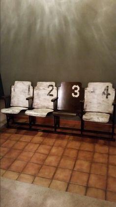 #repurpose # theater seats#stadium seats