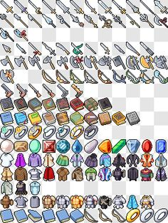 Iconset by on DeviantArt Pixel Characters, 8 Bits, Pixel Art Games, Rpg Maker, Game Concept Art, Game Icon, Character Design Animation, Game Design, Art Tutorials