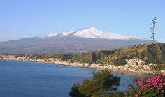 Mount Etna (Italian: Etna, Sicilian: Mungibeddu or a Muntagna, Latin: Aetna) is an active stratovolcano on the east coast of Sicily, Italy, in the Province