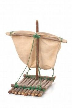 Smart wood raft «Teamwork at the BSO, Boat Crafts, Fun Crafts, Diy And Crafts, Arts And Crafts, Paper Crafts, Diy For Kids, Crafts For Kids, Nature Crafts, Activities For Kids