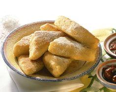 Knusprig ausgebackene Puddingecken | Zeit: 50 Min. | http://eatsmarter.de/rezepte/knusprig-ausgebackene-puddingecken