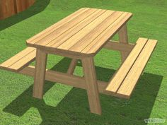 Build a Picnic Table Step 11 Version 2.jpg