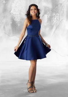 Morilee quinceañera dresses, damas quinceañera dresses, cocktail dresses & party dresses satin party dress with beading style: 9482 Dama Dresses, Quince Dresses, Grad Dresses, Pageant Dresses, Quinceanera Dresses, 15 Dresses, Homecoming Dresses, Blue Dresses, Party Dresses