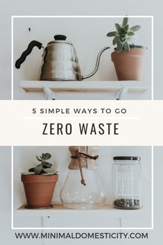 A beginner's guide to getting started reducing your trash, going plastic free, and living a more environmentally friendly, zero waste lifestyle.