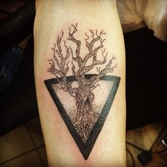 #lifetree #tattoo #tree #triangle