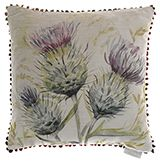 Thistle Glen Velvet Cushion - Country Collection