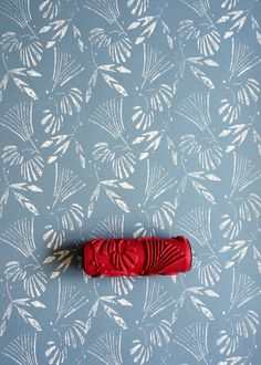 Patterned paint rollers from Paint & Courage, based in Slovakia, will give your walls the sophisticated modern vintage look. They come in a