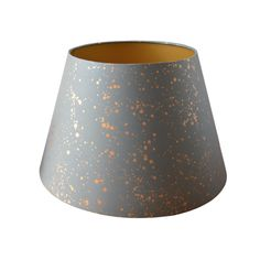 Munro and Kerr Grey Splatter Paper Empire Lampshade Paper Lampshade, Lampshades, Small Candles, Garden Studio, Travel Light, Antique Copper, Save Energy, Frames On Wall, Empire