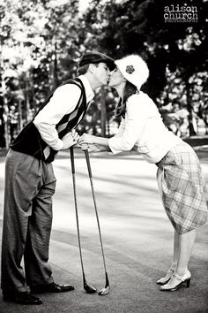 Cheesy Golf Outfits (Allison Church Photography)