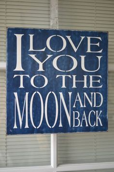 I Love You To The Moon And Back, 12x12 Primitive Wood Sign, Children, Boy Signs, Girl Signs, Nursery, Baby Signs on Etsy, $22.95