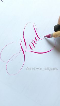 Brush Pen Calligraphy, Calligraphy Tutorial, Copperplate Calligraphy, Hand Lettering Tutorial, Hand Lettering For Beginners, Calligraphy For Beginners, Calligraphy Letters Alphabet, Calligraphy Handwriting, Hand Lettering Styles