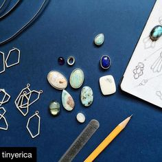 Excited to have @tinyerica with us for the first time at our holiday show! #Repost @tinyerica  Works in progress.  The final holiday deadline for any Made To Order pieces from my collection is December 12; Ready To Ship items may be ordered through December 18. At this time I am no longer accepting custom requests for the holidays. To those of you who have reached out regarding custom one-of-a-kind work thank you so much! I'm catching up on emails and following up with all of your…