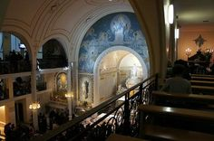 奇跡のメダイ教会(Chapelle Notre Dame de la Medaille Miraculeuseメダイユ・ミラキュルーズ・ノートルダム教会)