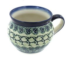 Polish Pottery Shannon BellShaped Mug ** Click on the image for additional details.