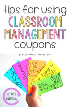 Looking for a great classroom management strategy that kids in kindergarten, first, and second grade and teachers will love? Classroom reward coupons are the perfect idea for handling behavior in positive ways! Students will love the fun choices that work for homeschool or in class instruction. Get the FREE printable coupon resource today! #classroommanagement #teacherfreebie #rewardsforkids #coupons