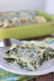 Cooking on the Front Burner: Spinach Lasagna
