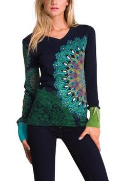 Desigual women's Danae T-shirt. This season at Desigual we can't be without the Danae T-shirt. This is one of our favourite T-shirts and it always will be!