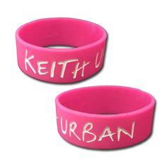 #KeithUrban - KU Rubber Bracelet $5.00